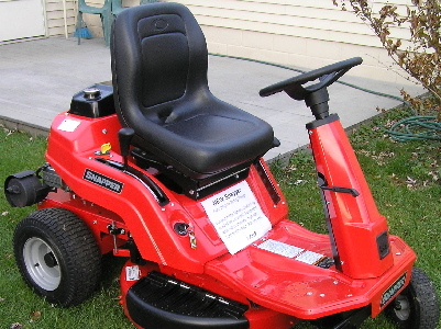 New 2014 snapper rear engine rider burton flint for Lawn tractor motors for sale