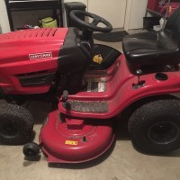 Like new craftsman riding mower for sale - $1300 OBO